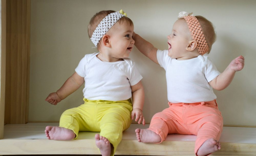 Every year, about 4 million babies are born in the United States, and, according to the latest numbers, more of them than ever are twins. (Donnie Ray Jones/Flickr)