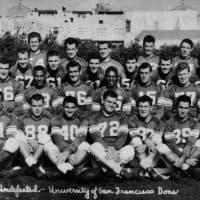 1951 University of San Francisco Dons. (Courtesy University of San Francisco)