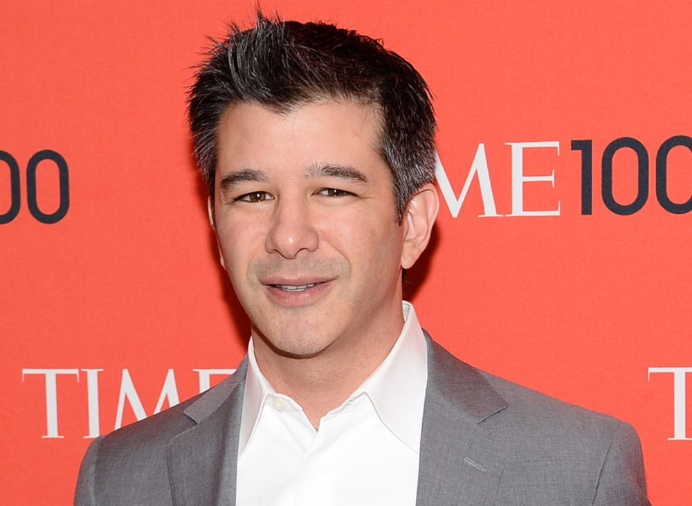 Uber CEO Travis Kalanick, seen here in this April 2014 file photo, spoke at a Boston event Tuesday. (Evan Agostini/Invision/AP)
