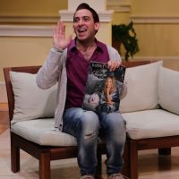 """Phil Tayler stars in """"Buyer & Cellar"""" at Lyric Stage Co. (Courtesy of  Mark S. Howard/Lyric Stage Co.)"""