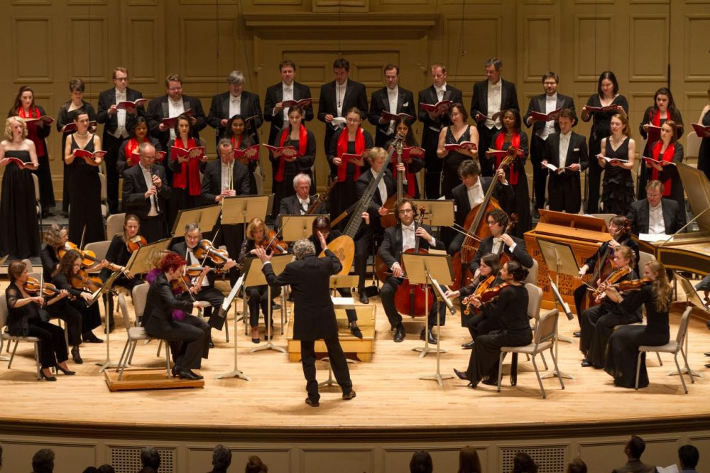 The Handel & Haydn Society has celebrated its 200th year with works H+H premiered in the US, exhibits of historical materials, and free concerts. (Courtesy of Handel  and Haydn Society)