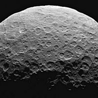 "Joelle Renstrom: ""Will wars over resources relocate to space? In the race to turn billions into trillions, will the rich hammer flags into asteroids and planets to claim them?"" Pictured: Ceres, a dwarf planet located in the asteroid belt between Mars and Jupiter. On Wednesday, November 25, 2015, President Obama signed the Asteroid Resources Property Rights Act, clearing the way for mining in space. (NASA via AP)"