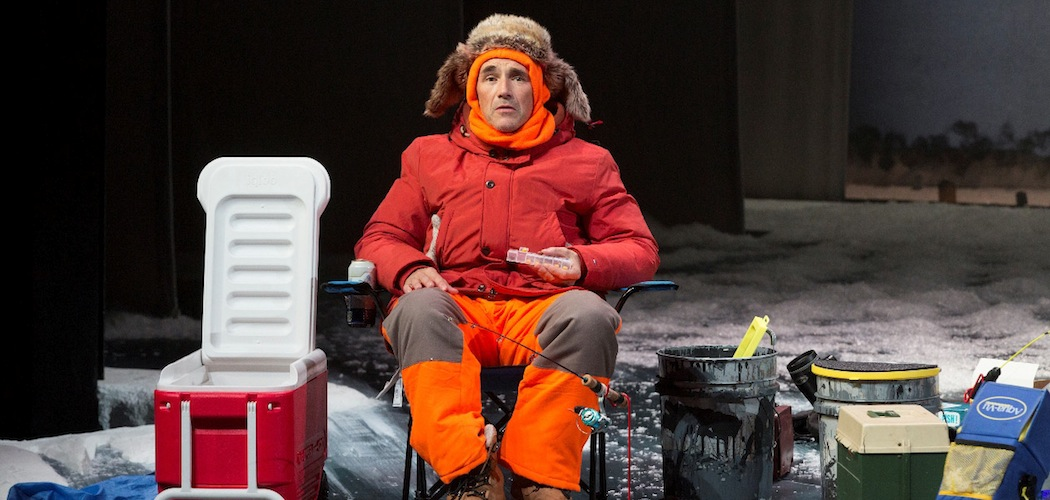 "Mark Rylance in ""Nice Fish,"" coming to the American Repertory Theater in January.  (Richard Termine)"