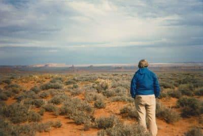 Steve Cone in Monument Valley, Arizona, in 1982. (Courtesy Barb Cone)