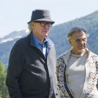 "Michael Caine and Harvey Keitel in ""Youth."" (Courtesy of Gianni Fiorito/20th Century Fox Film Corporation)"