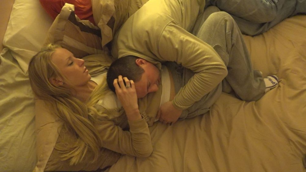 "Cassie and her boyfriend, Dan, two of the subjects of the film ""Heroin: Cape Cod, USA."" (Courtesy HBO)"
