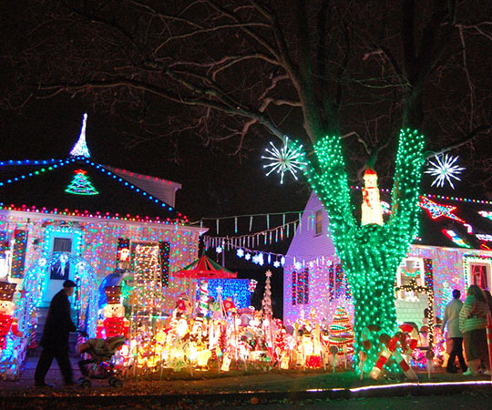 Where To See Christmas Lights.Where To See The Best Christmas Lights Around Boston The