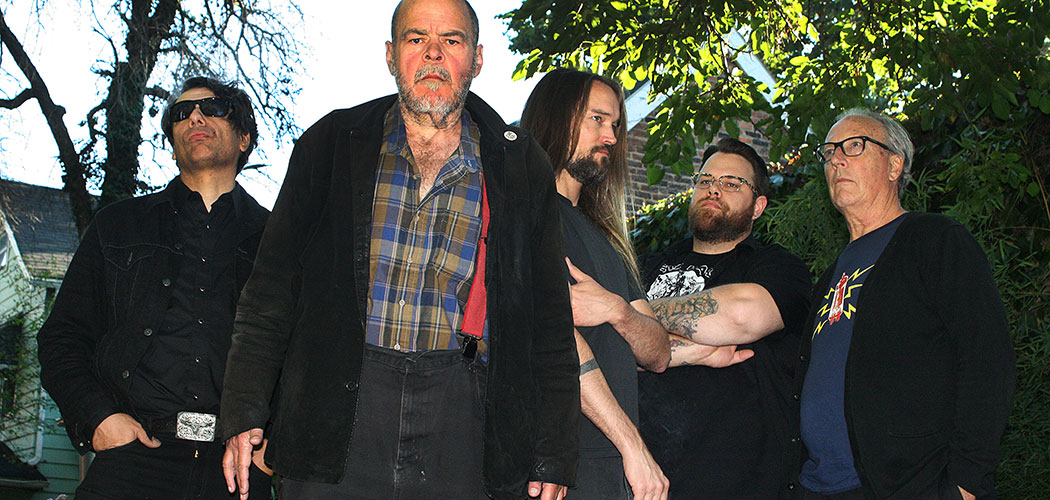 Rocket From The Tombs is (from left) Gary Siperko, David Thomas, Steve Mehlman, Buddy Akita and Craig Bell. (Kathy Ward)