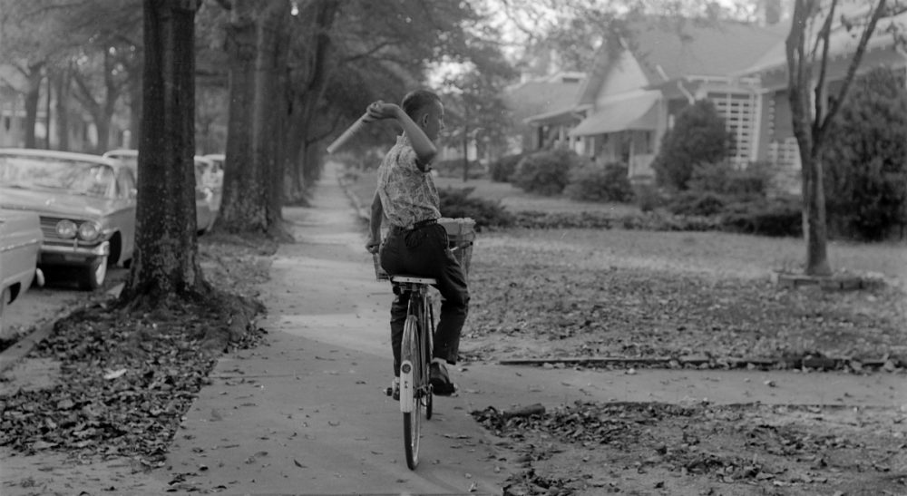 Christopher B. Daly: As the Boston Globe struggles with its home-delivery service, I might suggest that the newspaper's executives consider recruiting a small army of boys and girls on bikes. (ECU Digital Collections/ flickr)