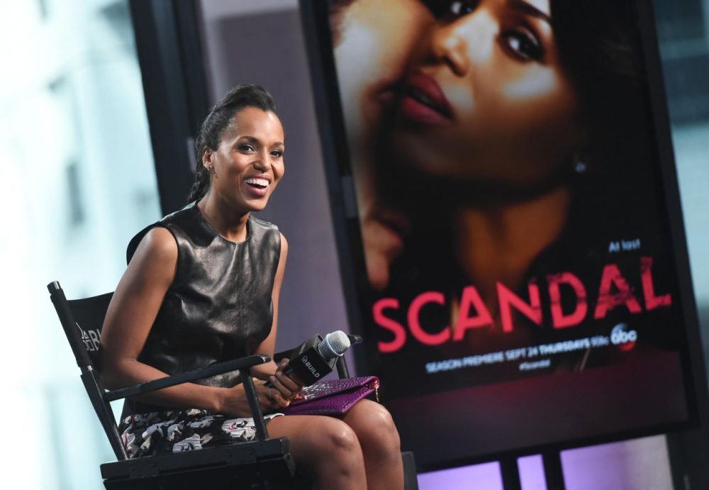 "Harvard's Hasty Pudding Theatricals has named actress Kerry Washington, the star of the television show ""Scandal,"" its Woman of the Year. (Evan Agostini/Invision/AP)"