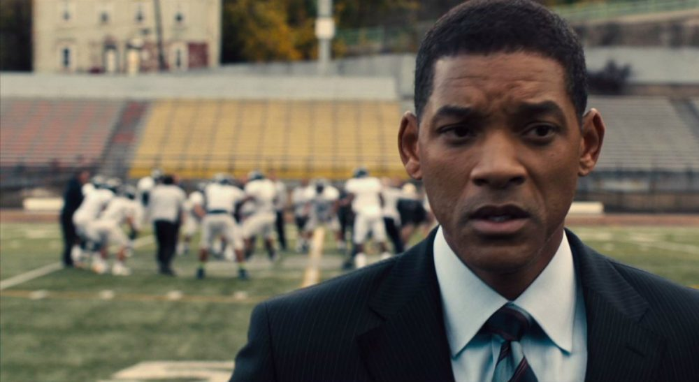 "Some thought the new football drama, ""Concussion,"" might do real damage to the sport. That appears to be a very unlikely outcome. In this screen grab, Will Smith is pictured portraying Dr. Bennet Omalu. (Sony Pictures)"