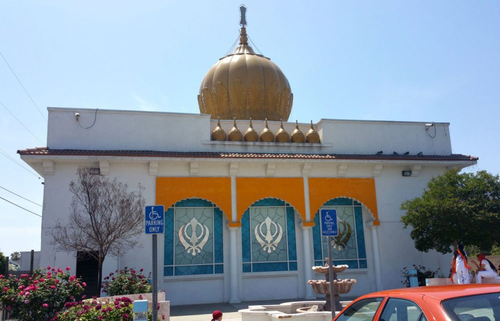 Gurdwara Singh Sabha, a Sikh temple in Buena Park, California, was vandalized after the San Bernardino attacks last month. (gssbuenapark.org)