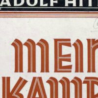 "Julie Wittes Schlack: Overtones of Hitler's injured, outraged, venomous screed are all too evident in what passes for political discourse today. Pictured: The dust jacket of ""Mein Kampf"" by Adolf Hitler. (New York Public Library Digital Collection/ Wikimedia Commons)"