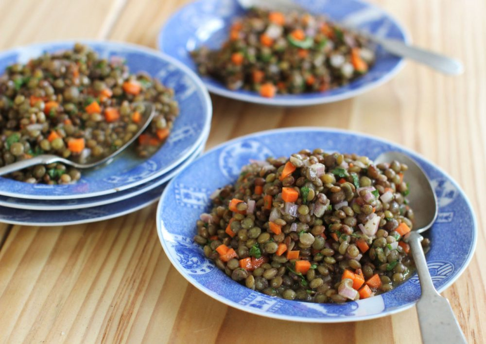 French lentil salad in Concord, N.H. (Matthew Mead/AP)