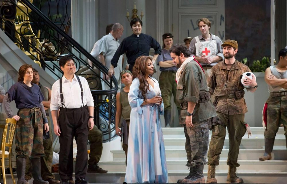 The Lyric Opera of Chicago performs 'Bel Canto,' based on Nashville author Ann Patchett's book. (Lyric Opera of Chicago)