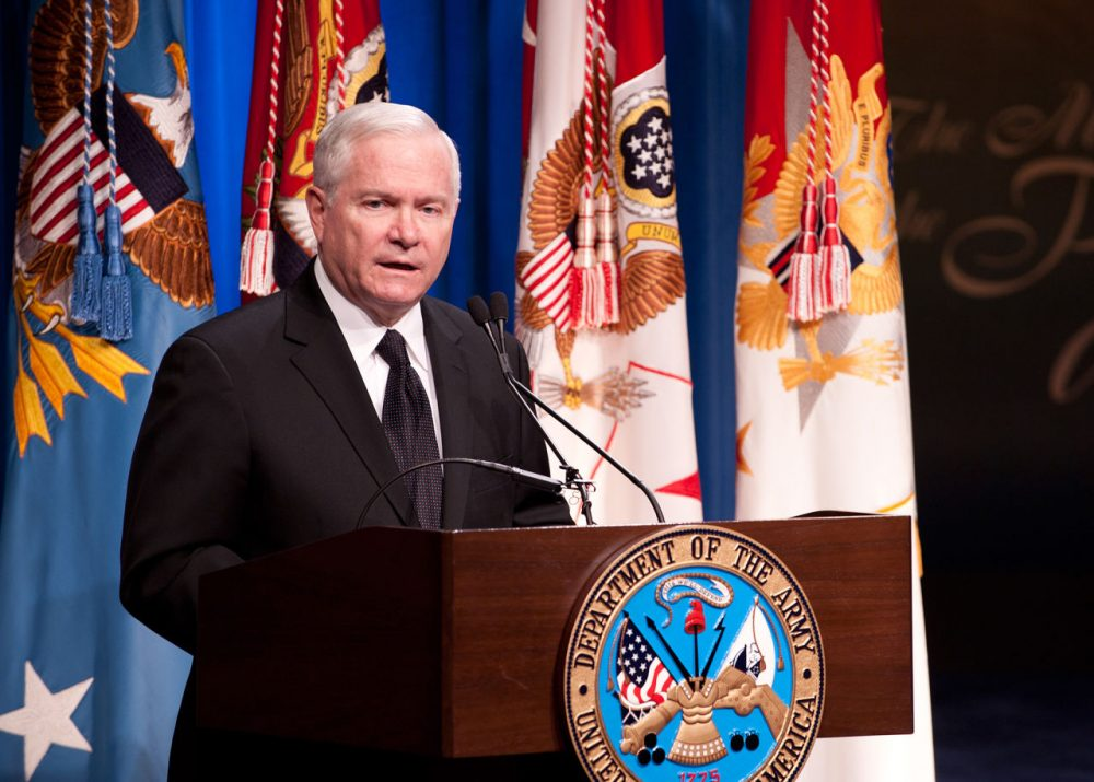 Former Defense Secretary Robert Gates has served eight U.S. Presidents of both political parties and he has led the Pentagon, the Central Intelligence Agency, and Texas A & M University. (U.S. Army Europe Images/Flickr)