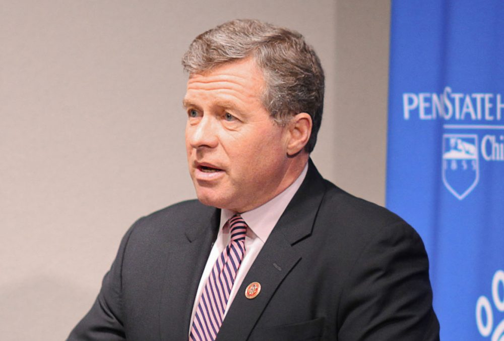 U.S. Representative Charlie Dent is pictured in January 2014. (Penn State Hershey)