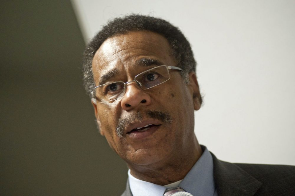 """Emanuel Cleaver II speaks during the """"45 Years Across The Bridge: The Battles of Selma"""" screening at The Americas Square Building on November 30, 2011 in Washington, D.C. (Kris Connor/Getty Images)"""