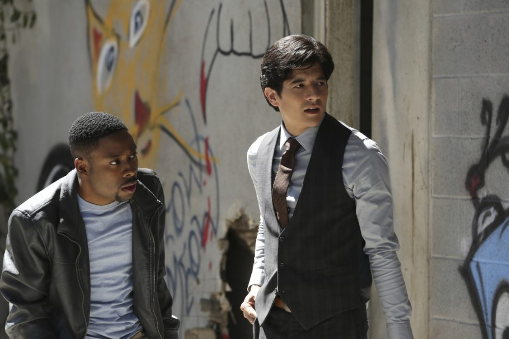 """CBS is turning the film franchise """"Rush Hour"""" into a TV series starring Justin Hires and Jon Foo. (Michael Yarish/CBS Broadcasting)"""