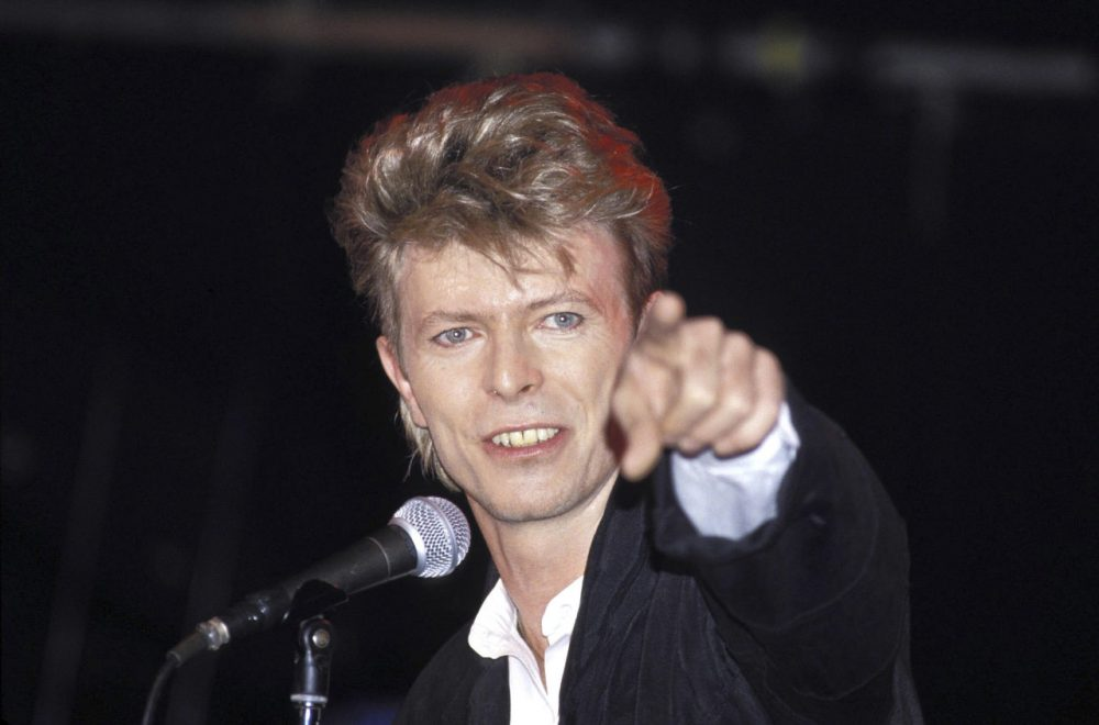 Singer David Bowie performs during his Glass Spider tour, on January 1, 1987 at Sydney Entertainment Center. (Patrick Riviere/Getty Images)