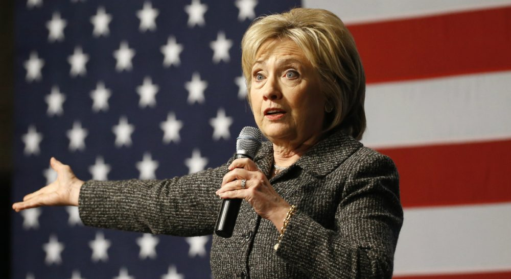 Janna Malamud Smith: Too many of us are spectators, not participants. That makes it harder for us to judge fairly. In this Jan. 12, 2016, photo, Democratic presidential candidate Hillary Clinton speaks during a campaign event at Iowa State University in Ames, Iowa. (Patrick Semansky/AP)