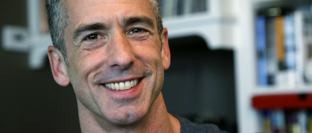 Sex columnist and gay rights activist Dan Savage. (Elaine Thompson/AP File)