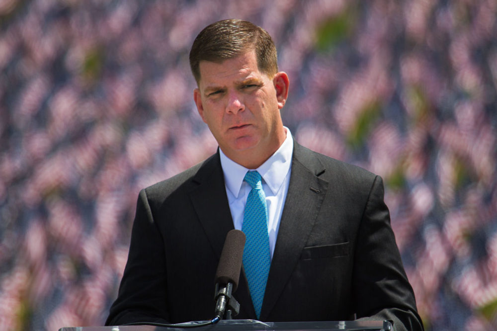"Boston Mayor Marty Walsh has said he will speak about how he plans to make his third year in office will be his ""year of action."" (Jesse Costa/WBUR)"