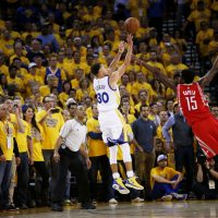 Last season, Stephen Curry hit 286 three-pointers -- an NBA record. (Ezra Shaw/Getty Images)