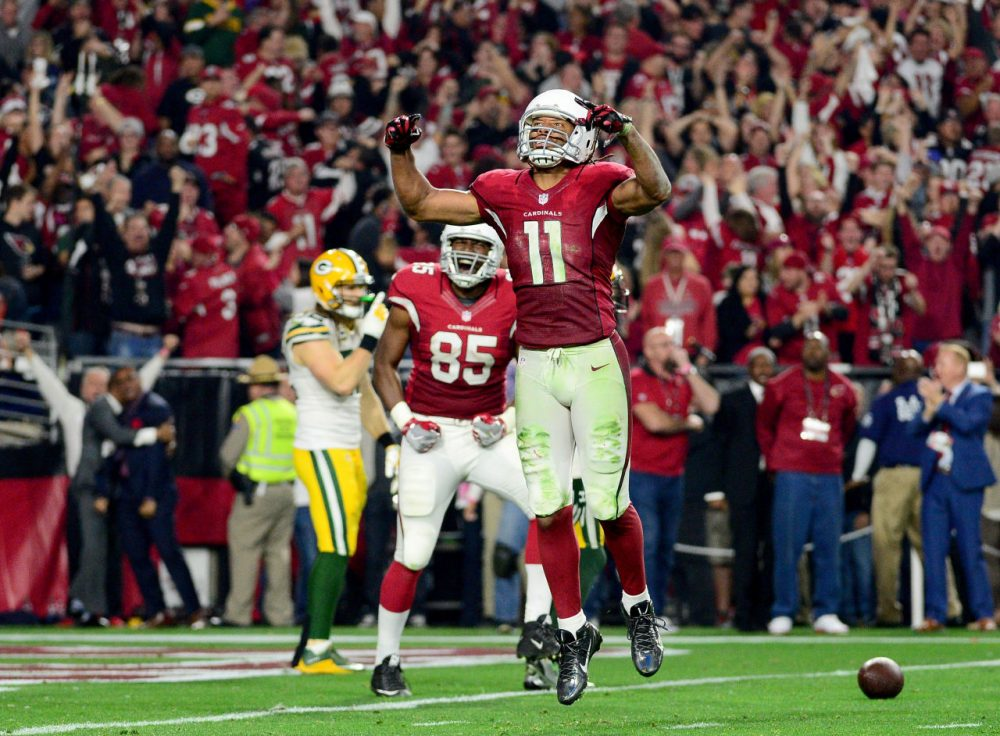 The Arizona Cardinals are facing the Carolina Panthers for the NFC title this Sunday -- could this finally be the year when the Cardinals get to the Super Bowl and win? (Jennifer Stewart/Getty Images)