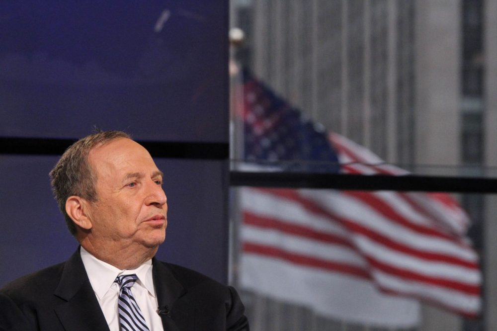 Former Treasury Secretary Larry Summers visits FOX Business Network at FOX Studios on January 30, 2015 in New York City. (Rob Kim/Getty Images)
