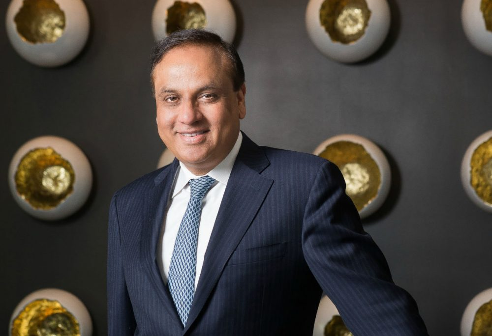 Ashock Bajaj is founder of Knightsbridge Management in Washington, D.C., which includes seven restaurants, including The Bombay Club, just one block from the White House. (Rey Lopez)