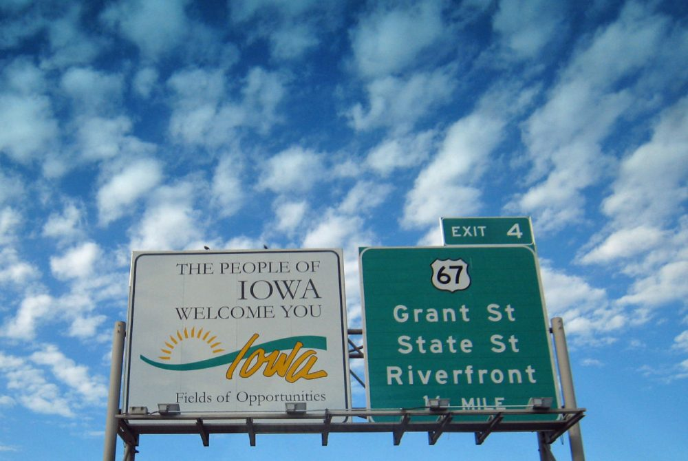 Here & Now is on the road in Iowa. Robin Young is broadcasting today from Iowa Public Radio in Ames. (auvet/Flickr)