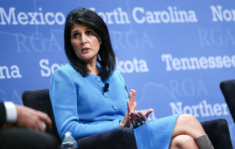 South Carolina Gov. Nikki Haley will deliver this year's Republican response to President Obama's State of the Union address. (Chase Stevens/AP)