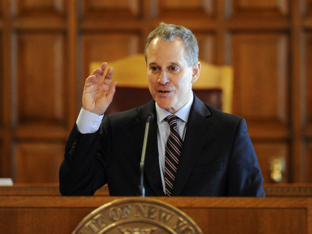 New York State Attorney General Eric Schneiderman (Hans Pennink/AP)