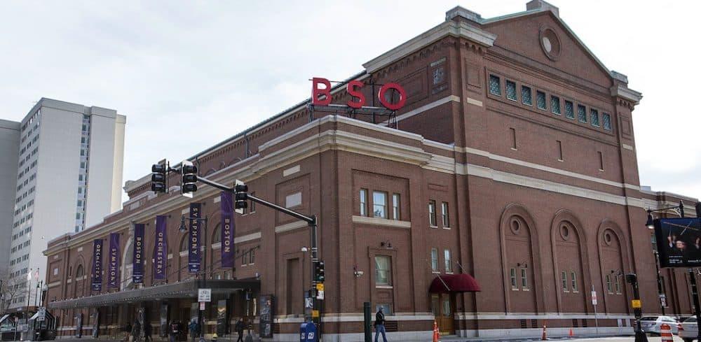 Symphony Hall. (Jesse Costa/WBUR)