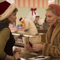 "Rooney Mara and Cate Blanchett in Todd Haynes' ""Carol."" (Courtesy The Weinstein Company)"