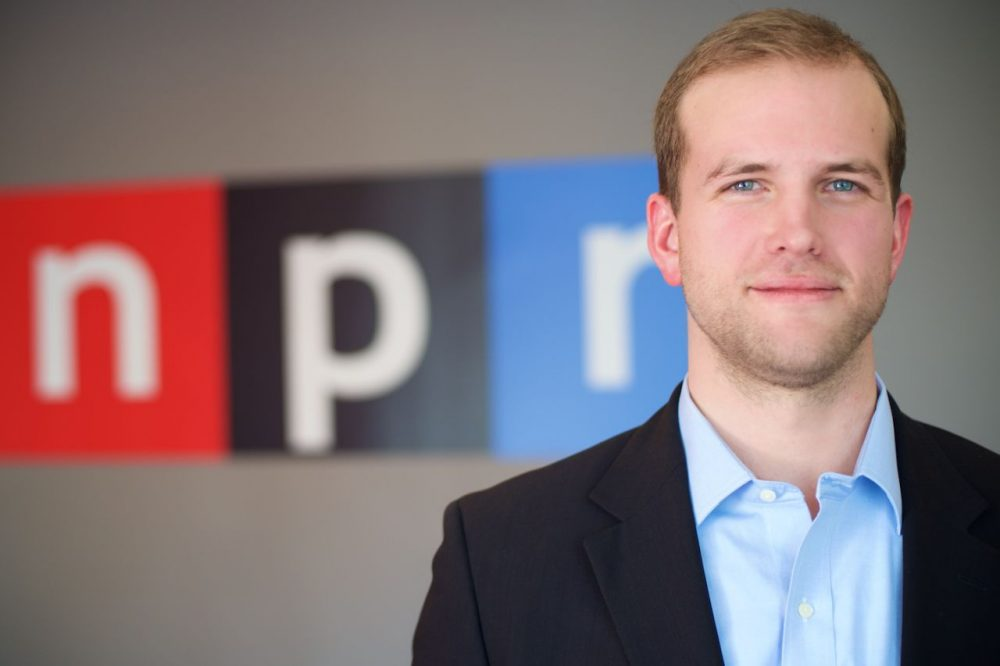 Matthew Trevithick was detained in Iran for 41 days. He's now back in the United States. (Bryan McCabe/NPR)