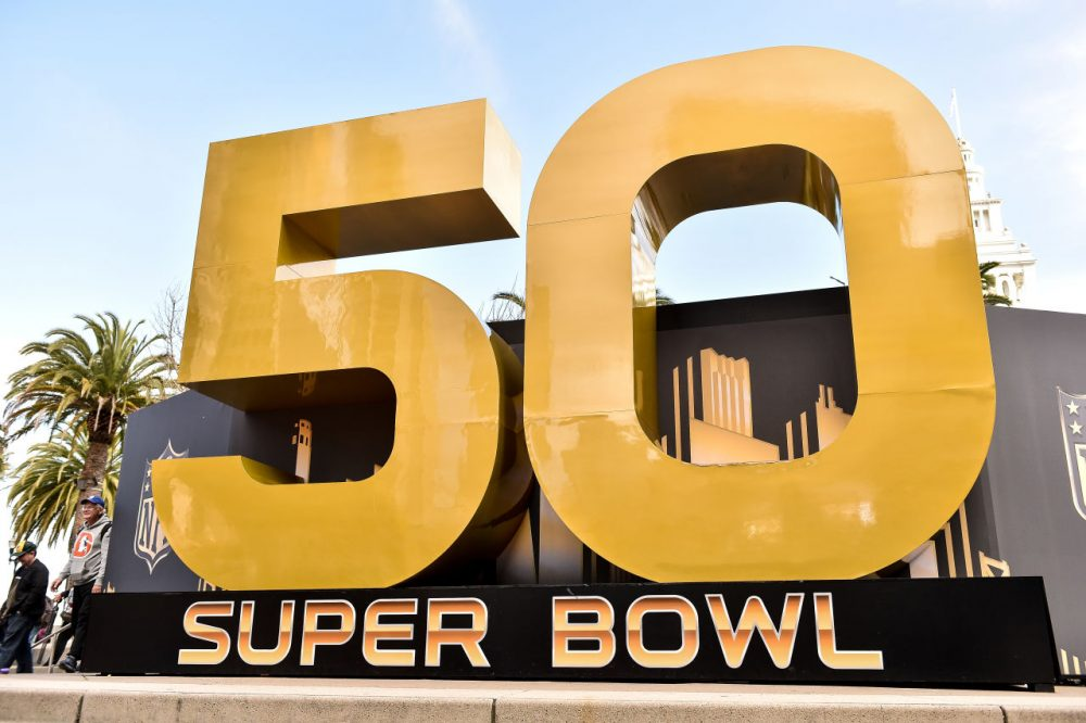 Super Bowl 50 is here--Only A Game has the haiku to match.  (Mike Windle/Getty Images)