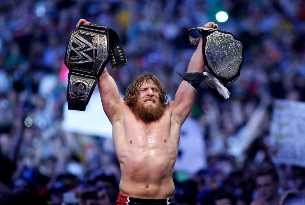 WWE wrestler Daniel Bryan announced his retirement from the sport this past week due to concussions. (Jonathan Bachman/AP Images for WWE)