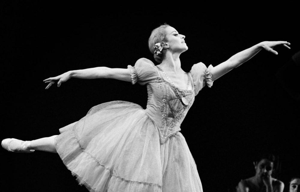 "French ballerina Violette Verdy performs in ""Giselle"" in Paris on October 27, 1972. Violette Verdy, dancer, choreographer and former director of the Opera de Paris and other world-class companies, died in the United States on February 8, 2016 at the age of 82. (Michel Clement/AFP/Getty Images)"