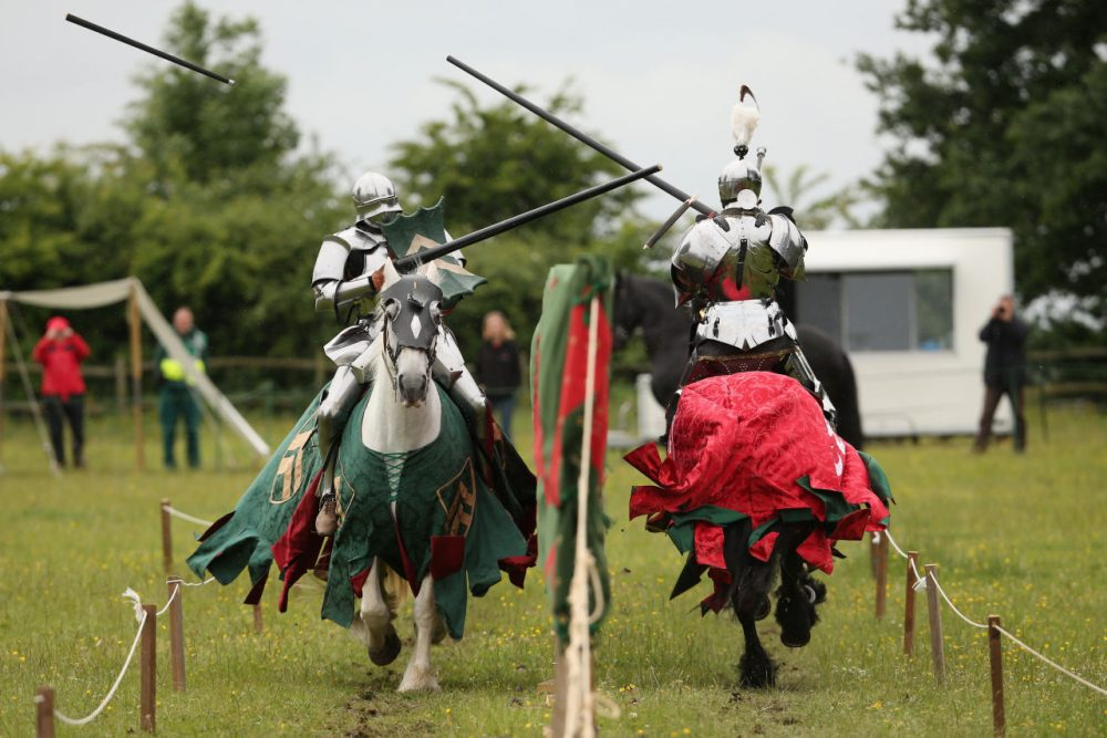 Researchers think the infamous King Henry VIII might have received CTE from jousting...(Oli Scarff/Getty Images)