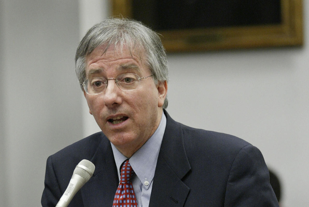 Dennis Ross, pictured here in 2004, says President Obama's handling of Syria stems from his experience with the Iraq War. (Luke Frazza/AFP/Getty Images)
