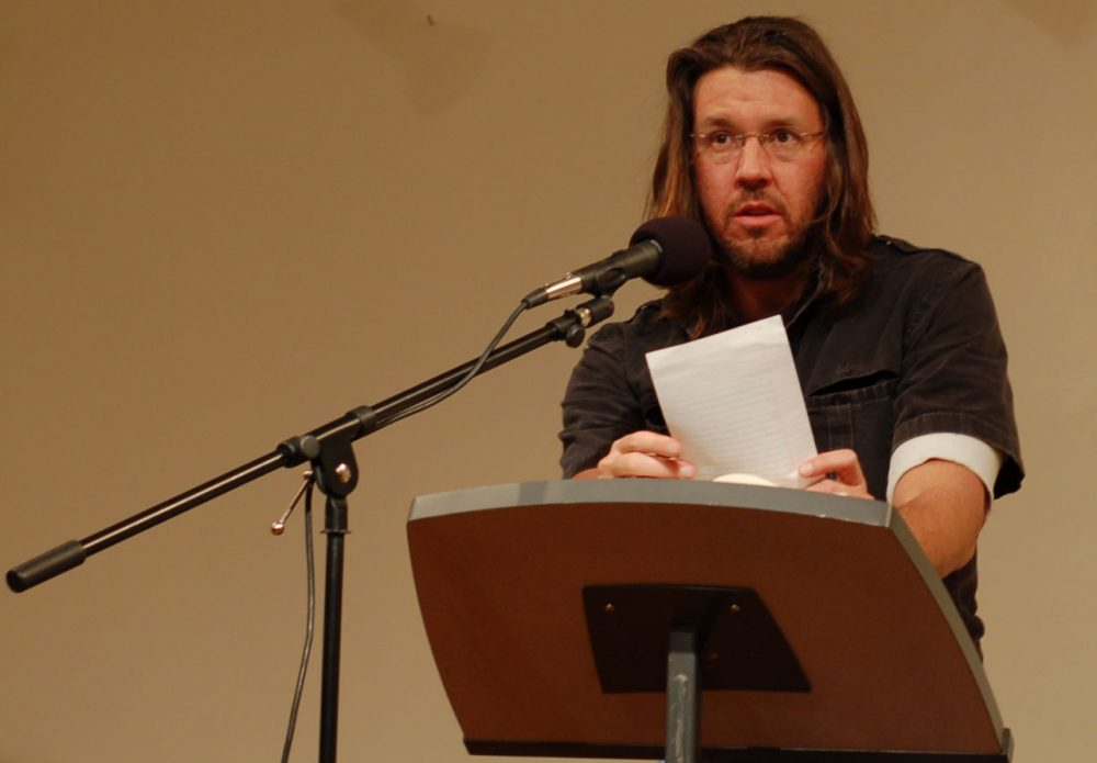 The 20th anniversary of David Foster Wallace's Infinite Jest comes out this Tuesday, February 23. (Steve Rhodes/Flickr)