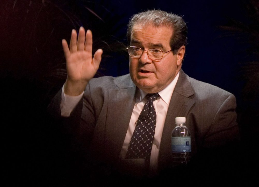 Justice Antonin Scalia will be remembered as one of the most vocal proponents for an originalist reading of the Constitution. (Chris Greenberg/AP, File)