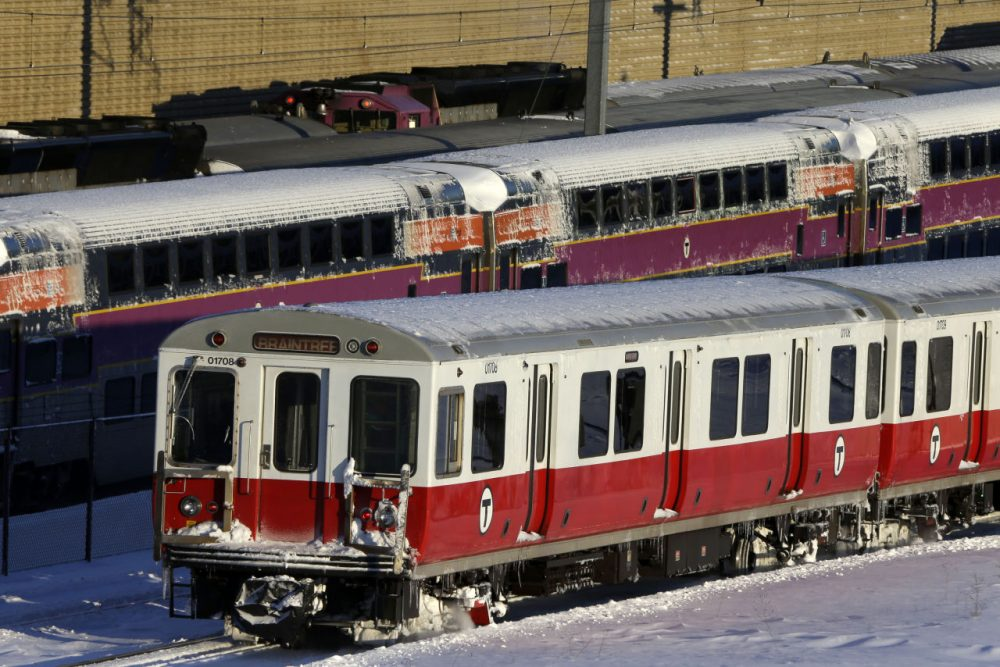 The MBTA will vote on a potential fare increase on March 7. (Gene J. Puskar/AP)
