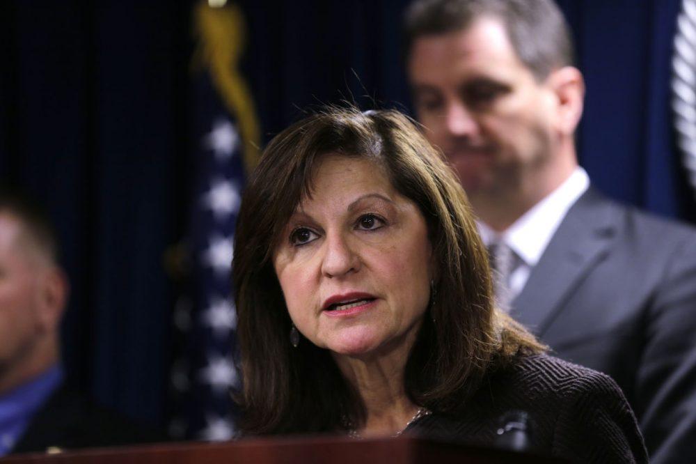 U.S. Attorney Carmen Ortiz is seen in a Jan. 29 photo. (Charles Krupa/AP)