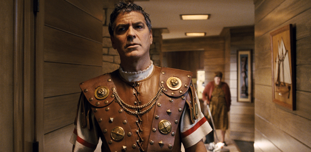 "George Clooney portrays Baird Whitlock in the film, ""Hail, Caesar!."" (Universal Pictures via AP)"