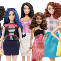 "Sarah Kiser: ""Our children need to see us smile at our own reflection and at the shape of our natural figures."" Pictured: A group of new Barbie dolls introduced in January 2016. Mattel, the maker of the famous plastic doll, said it will start selling Barbies in three new body types: tall, curvy and petite. She'll also come in seven skin tones, 22 eye colors and 24 hairstyles. (AP/Mattel)"