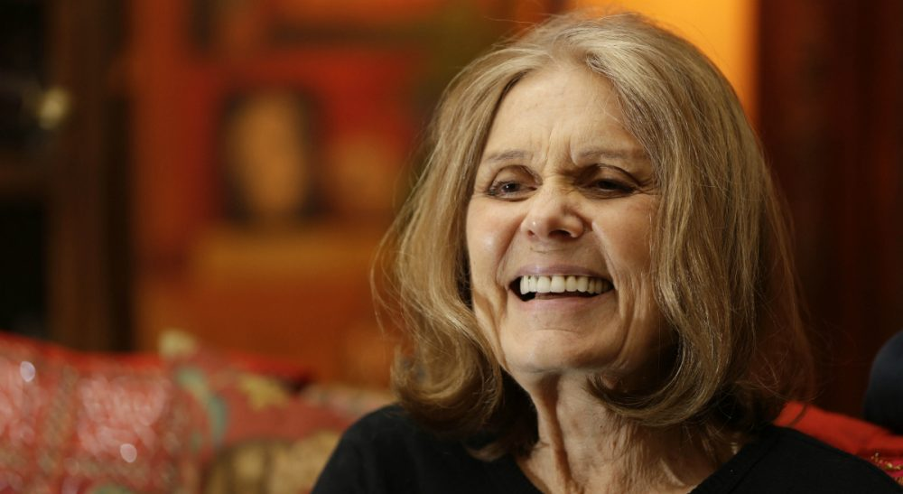 "Elizabeth Mehren: ""Come on, Gloria. As feminists, we are useless if we have not learned to mature."" Pictured: Gloria Steinem at her home in New York in October 2015.  (Seth Wenig/AP)"