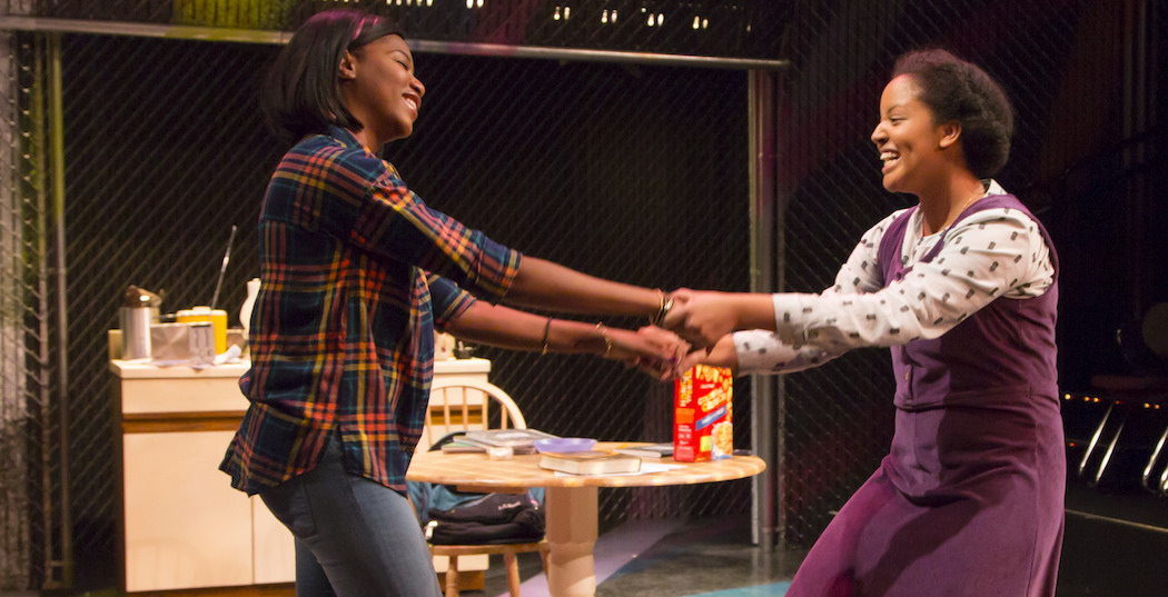 Jasmine Carmichael and Shanae Burch. (Courtesy T. Charles Erickson/Huntington Theatre)